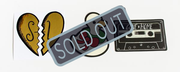 SOLD OUT Gone Home Sticker Pack