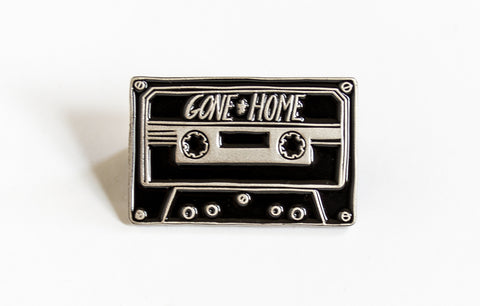 Gone Home Cassette Tape Pin