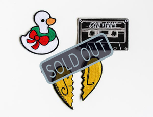 SOLD OUT Gone Home Patch Pack