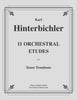 Hinterbichler - 11 Orchestral Etudes for Tenor Trombone - Cherry Classics Music
