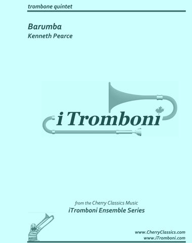 Bach - Prelude and Fugue XXII from WTC Book I for Trombone Quintet