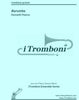 Pearce - Barumba for Trombone Quintet by iTromboni - Cherry Classics Music