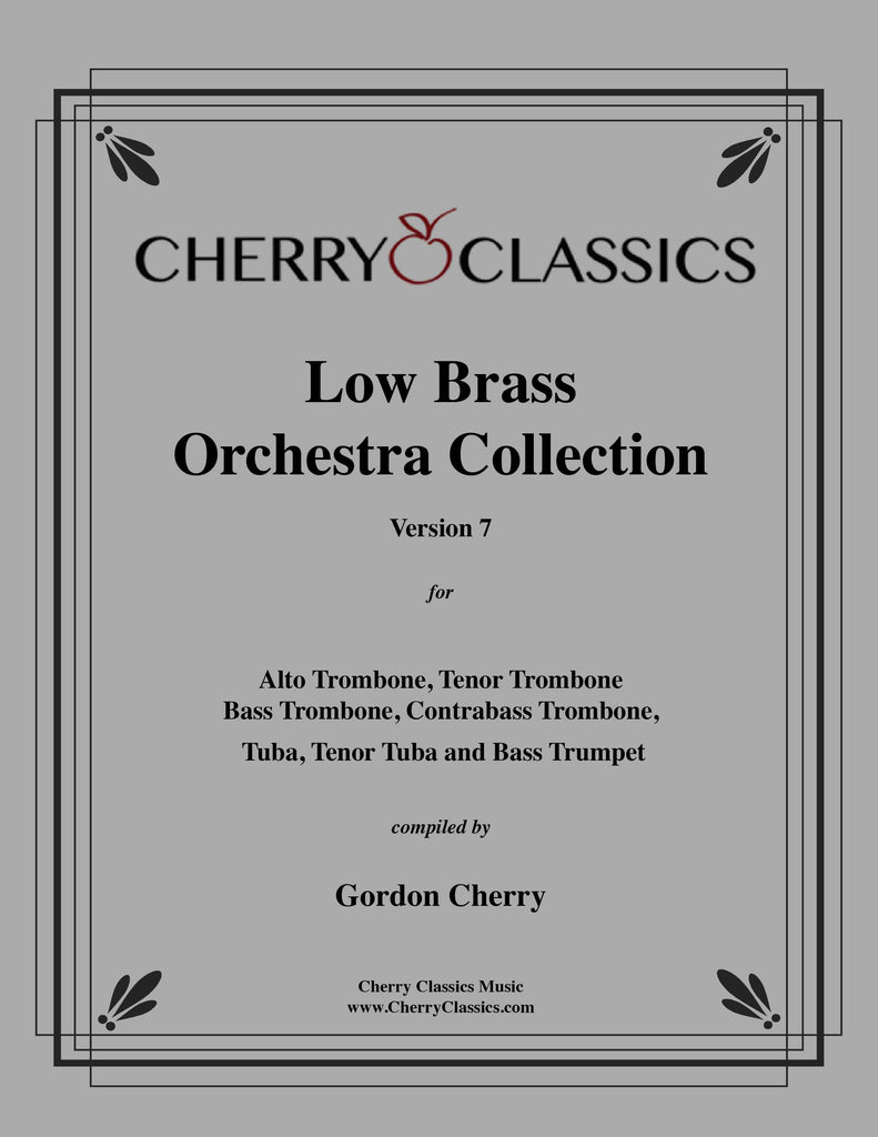 Cherry - Low Brass Orchestra Collection, Version 7.0