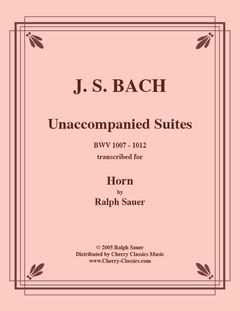 Bach - Unaccompanied Suites for Horn - Cherry Classics Music