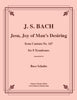 Bach - Jesu Joy of Man's Desiring from Cantata No. 147 - For 8 Trombones - Cherry Classics Music