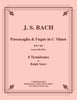 Bach - Passacaglia & Fugue BWV 582 for 8 Trombones - Cherry Classics Music