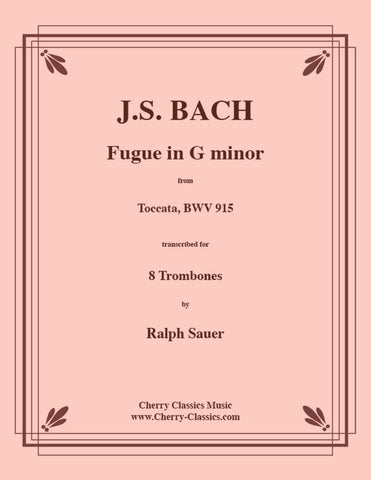 Bach - Toccata in E minor from Partita No. 6, BWV 830 for Four Part Trombone Choir