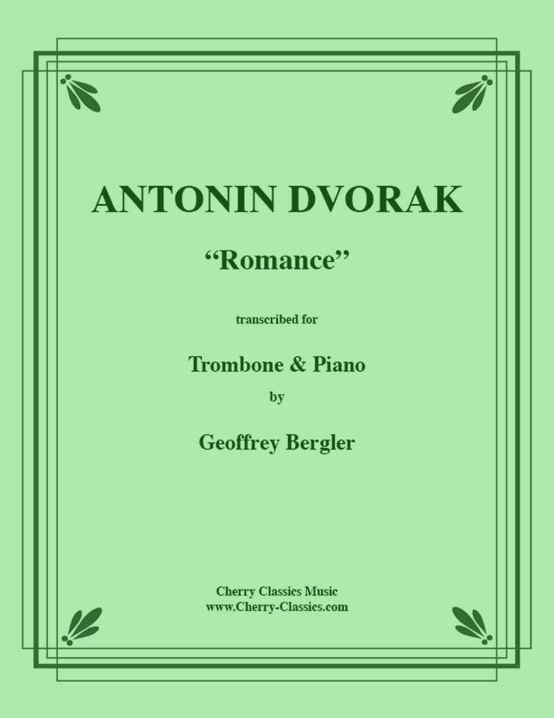 Dvorak - Romance for Trombone and Piano - Cherry Classics Music