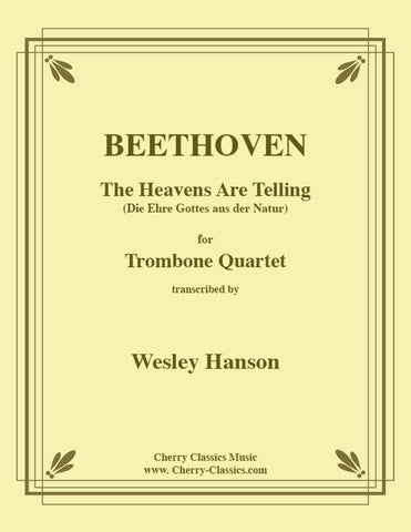 Beethoven - Drei (Three) Equale For Trombone Quartet
