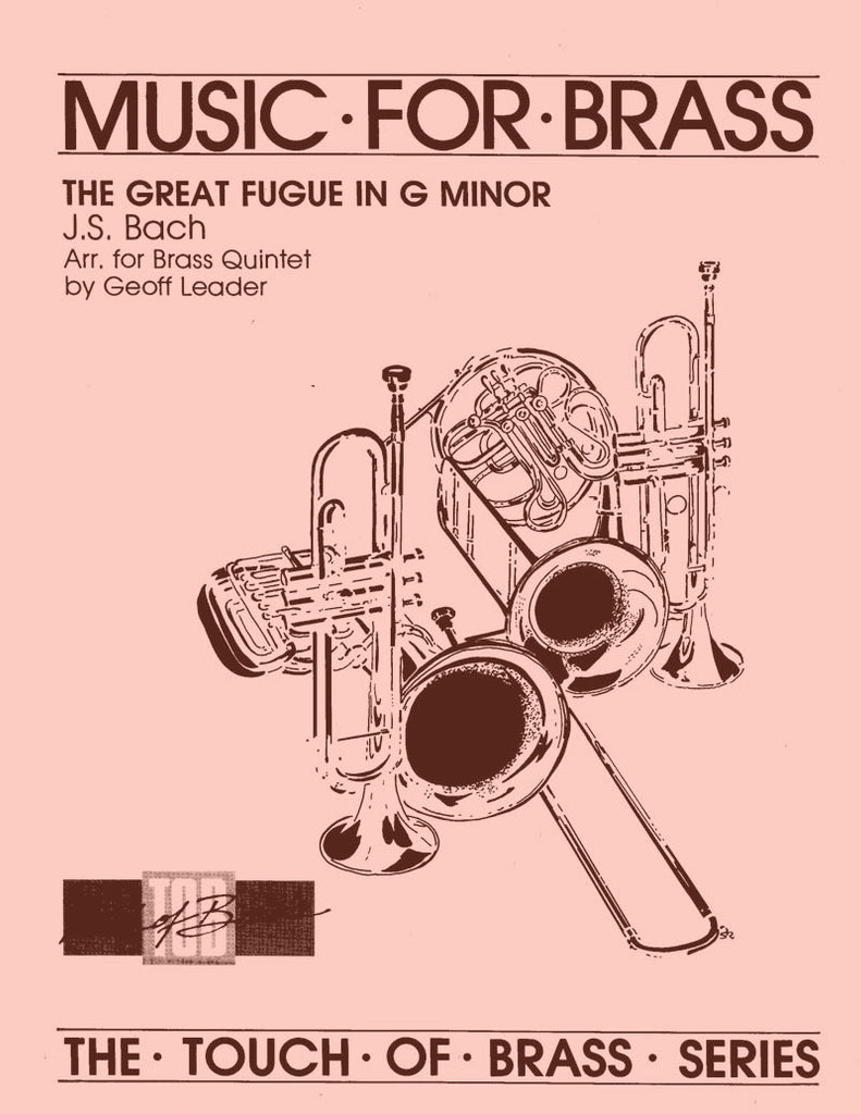 Bach - The Great Fugue in G Minor For Brass Quintet - Cherry Classics Music