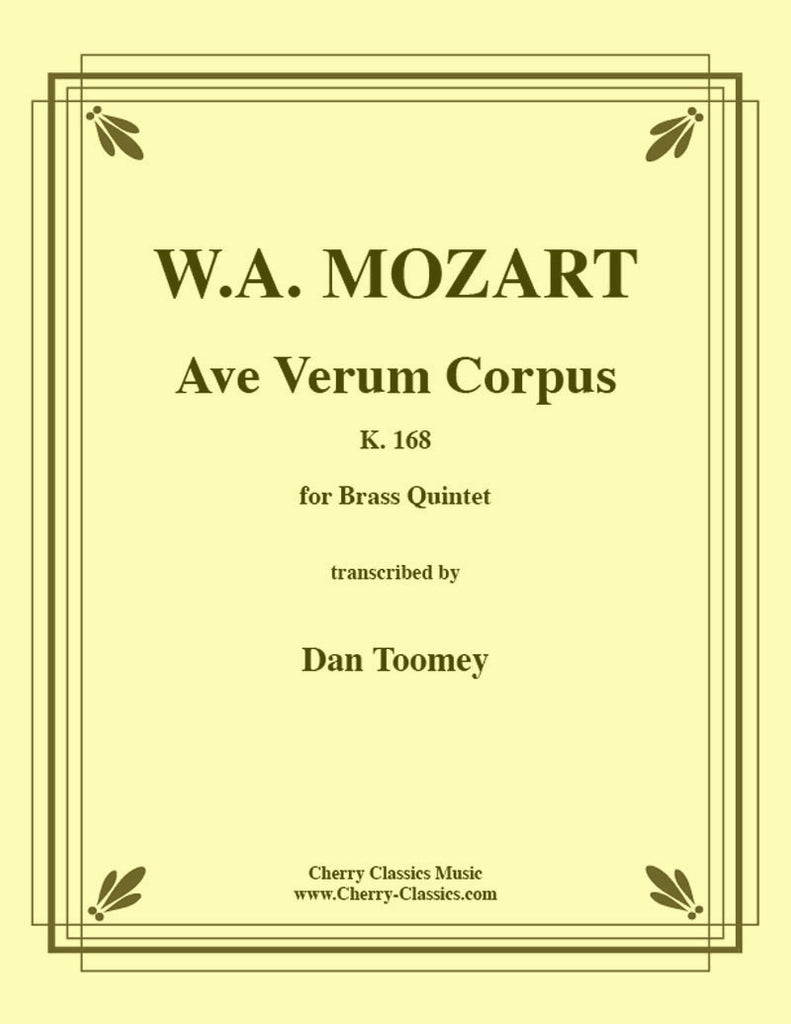 Mozart - Ave Verum Corpus for Brass Quintet - Cherry Classics Music