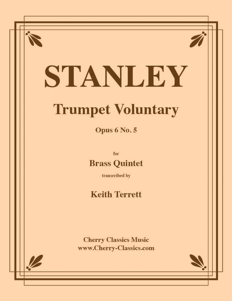 Stanley - Trumpet Voluntary for Brass Quintet - Cherry Classics Music