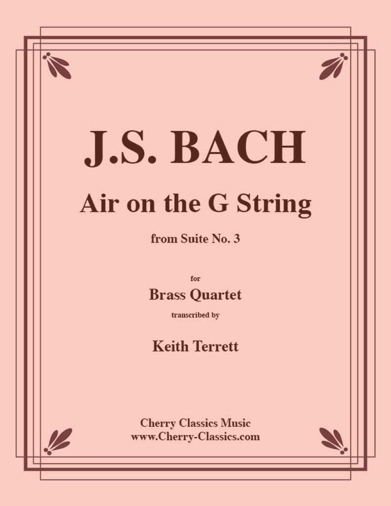 Bach - Air on the G String for Brass Quartet - Cherry Classics Music