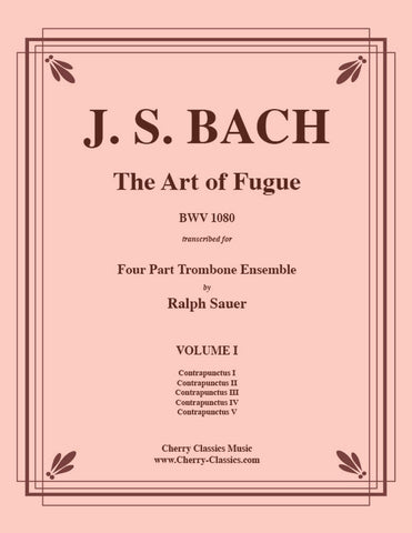 "Bach - Contrapunctus IV from ""The Art of Fugue"" for Brass Quintet"