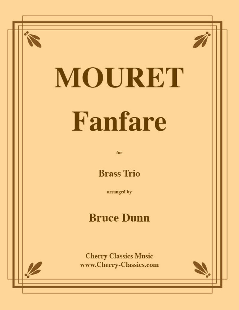 Mouret - Fanfare for Brass Trio - Cherry Classics Music