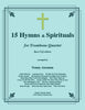 Traditional - 15 Hymns and Spirituals for four-part Trombone Ensemble - Bass Clef Edition