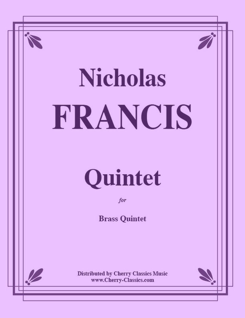 "Francis - Quintet 2007 based on the Hymn, ""Eternal Father"" - Cherry Classics Music"