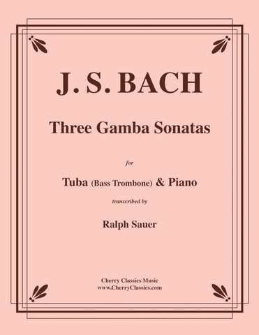 Bach - Three Gamba Sonatas for Euphonium & Piano