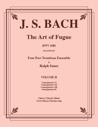 Bach - Aria and Chorale from Ein feste Burg Cantata BWV 80 for Brass Quintet