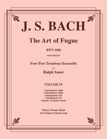 Bach - Air on the G String for Brass Quartet