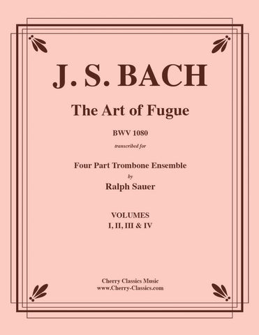 Bach - Twenty-Four Fugues from the WTC Vol. 1 & 2 For Trombone Quartet