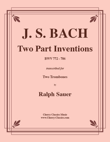 Bach - Largo from Concerto BWV 1043 for Two Trombones and Piano