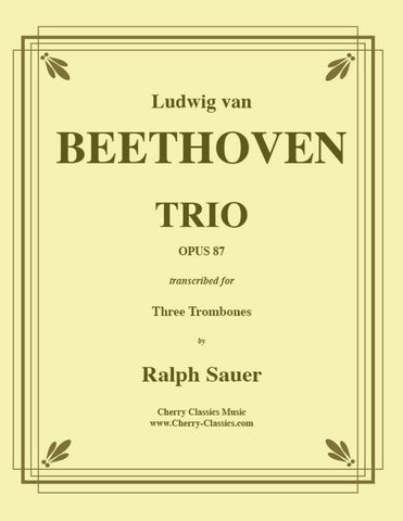 Bach - Sleepers Awake (Wachet Auf) For Trombone Trio