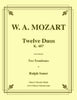 Mozart - Twelve Duos for Two Trombones - Cherry Classics Music