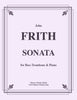 Frith - Sonata for Bass Trombone and Piano - Cherry Classics Music