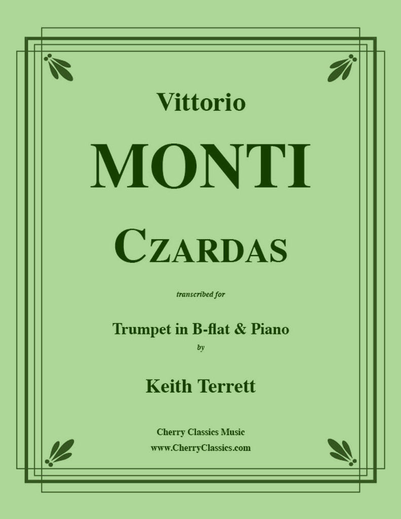 Monti - Czardas for Trumpet and Piano - Cherry Classics Music
