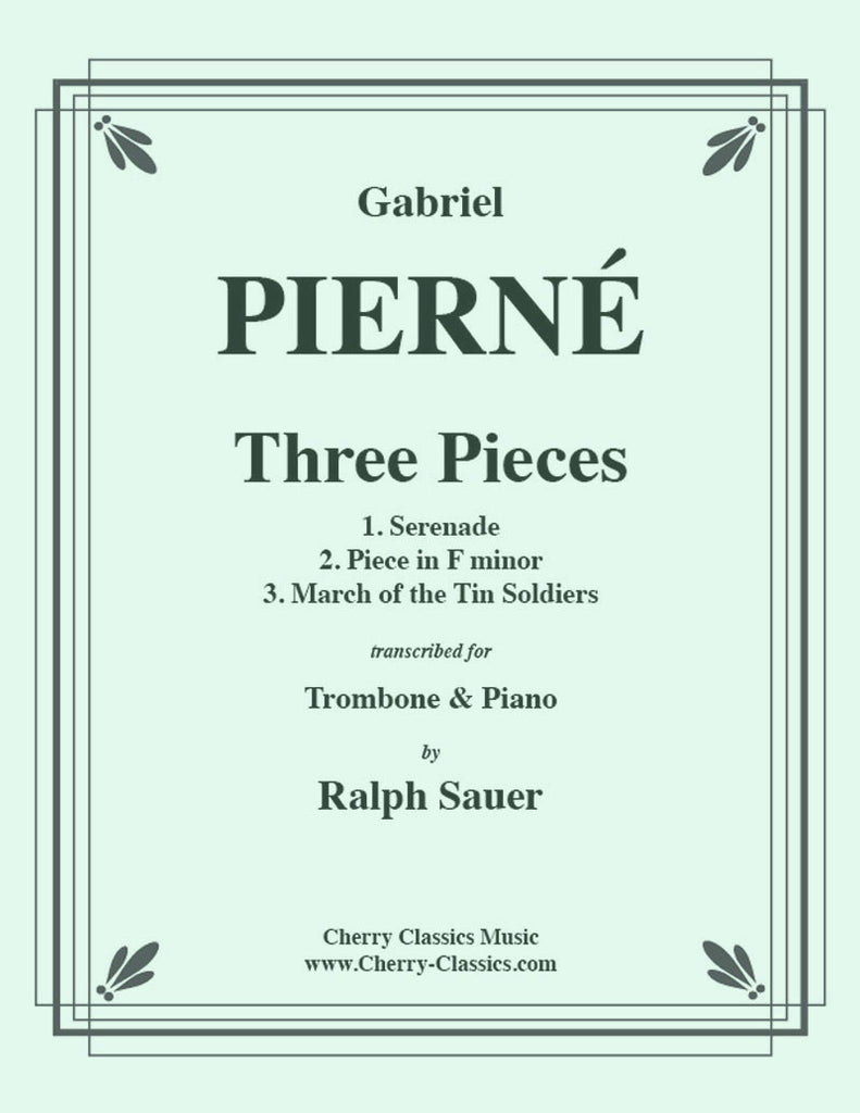 Pierné - Three Pieces for Trombone and Piano