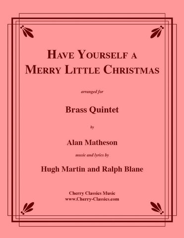 Traditional Christmas  - Irish Christmas Festival for Brass Quintet and Organ
