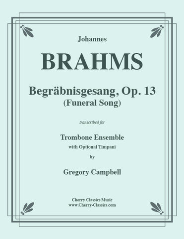 Brahms - Academic Festival Overture for 12-part Brass Ensemble and Percussion