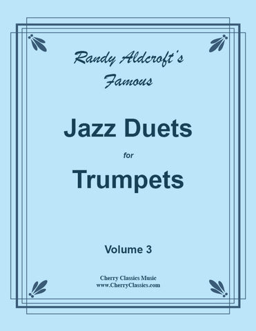 Aldcroft - Famous Jazz Duets for Trombone. Volume 1, 2 & 3