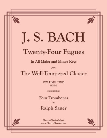 Bach - Passacaglia in C minor BWV 582 for Tuba Quartet