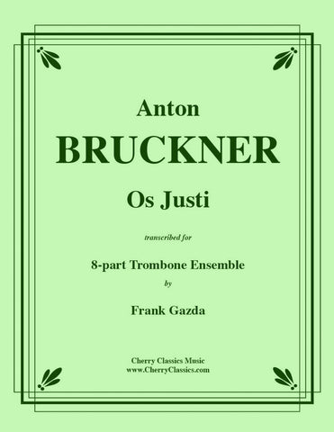 Bruckner - Kyrie from Mass No. 2 in E minor - For 8-Piece Trombone Ensemble