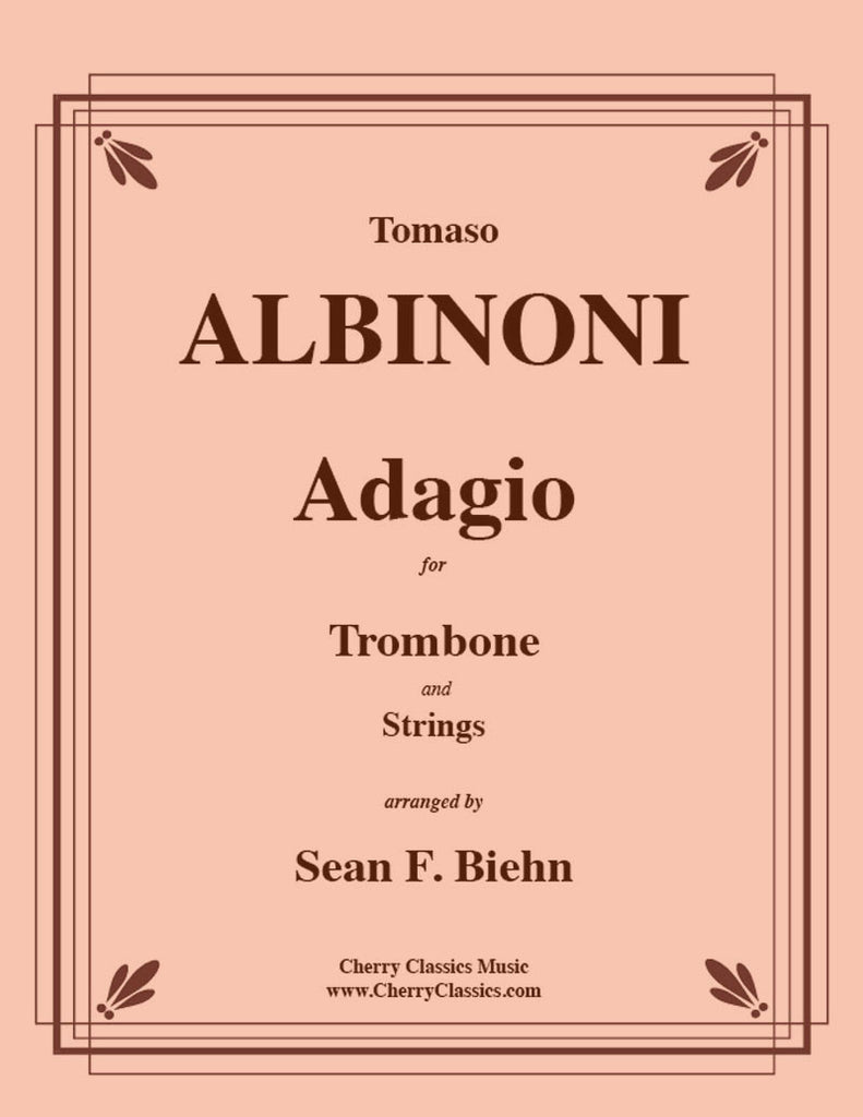 Albinoni - Adagio for Solo Trombone and Strings - Cherry Classics Music