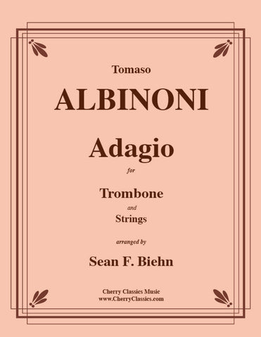 Albinoni - Adagio in G minor for Trombone and Piano (Organ)