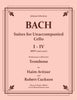 Bach - Suites for Unaccompanied Cello  I-IV - Performance edition for Solo Trombone - Cherry Classics Music
