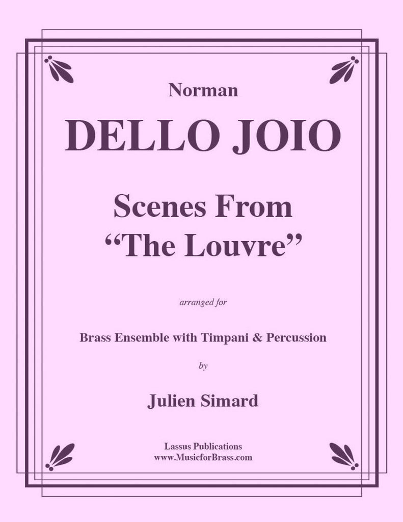 "Dello Joio - Scenes from ""The Louvre"" for Brass Ensemble with Timpani & Percussion - Cherry Classics Music"