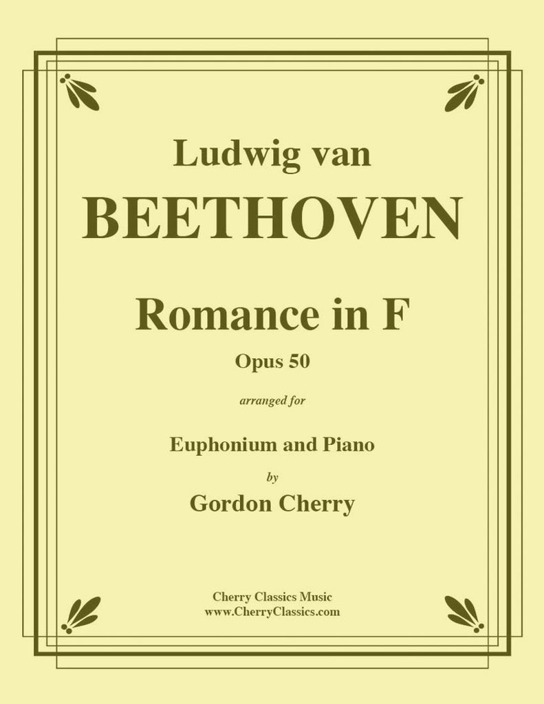Beethoven - Romance No. 2 in F, Opus 50 for Euphonium and Piano - Cherry Classics Music