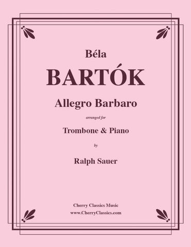 Bartok - Romanian Folk Dances for Trombone & Piano