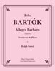 Bartók - Allegro Barbaro for Trombone & Piano - Cherry Classics Music