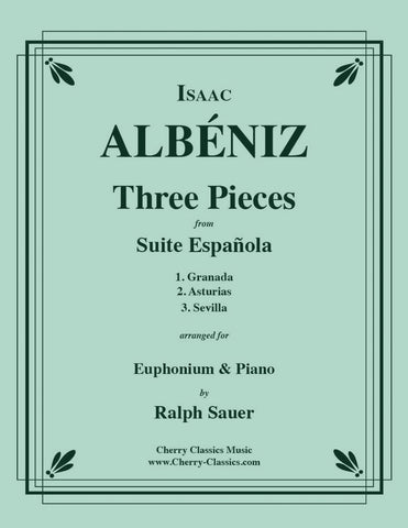 Albeniz - Three Pieces from Suite Espanola for Tuba or Bass Trombone and Piano