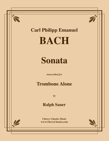 Bach - Unaccompanied Suites for Alto Trombone
