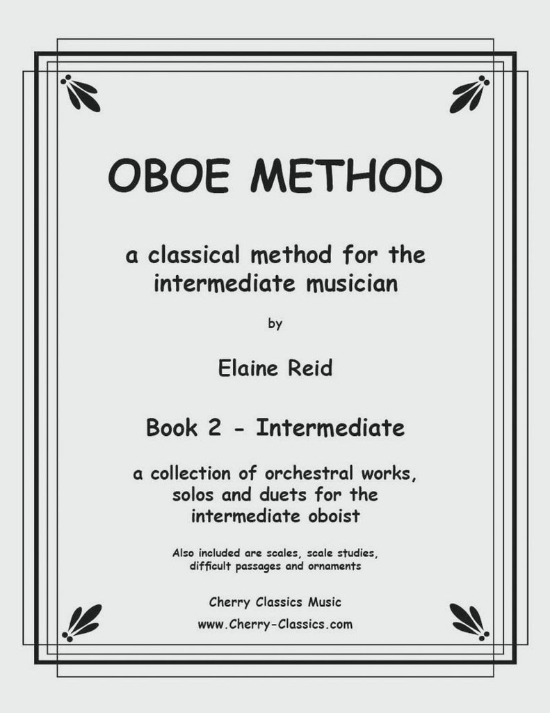 Smith - Oboe Method Volume #2 for the Intermediate musician - Cherry Classics Music
