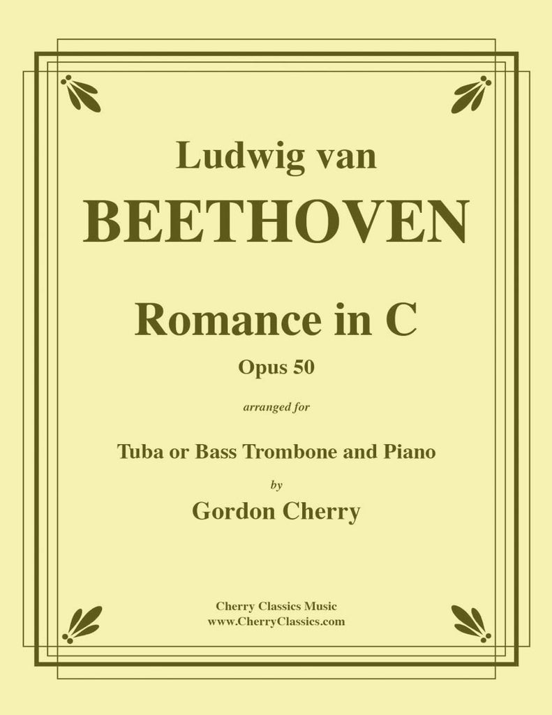 Beethoven - Romance No. 2 in C, Opus 50 for Tuba or Bass Trombone and Piano - Cherry Classics Music