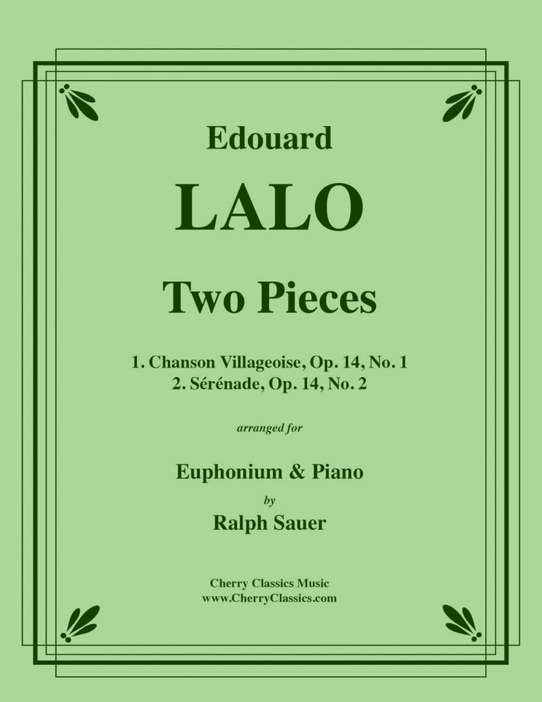 Lalo - Two Pieces for Euphonium and Piano - Cherry Classics Music