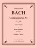 Bach - Contrapunctus VI BWV 1080 from the Art of Fugue for Brass Quintet - Cherry Classics Music