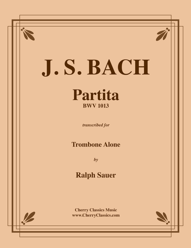 Bach - Partita BWV 1013 for Solo Trombone - Cherry Classics Music
